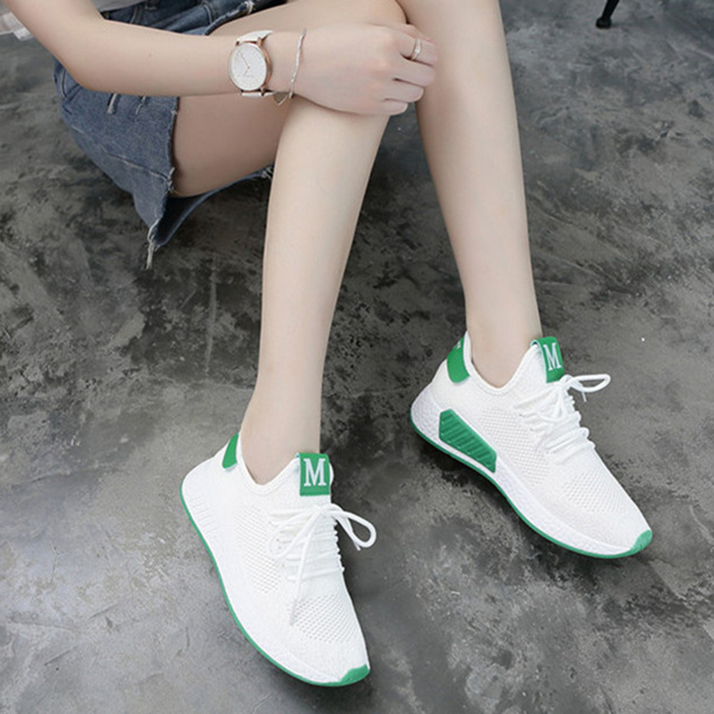 Lightweight Comfortable Lace-up Women's Shoes New Fashion Mesh Women's Vulcanize Shoes Casual Sneakers Zapatos Mujer VT657 (1)