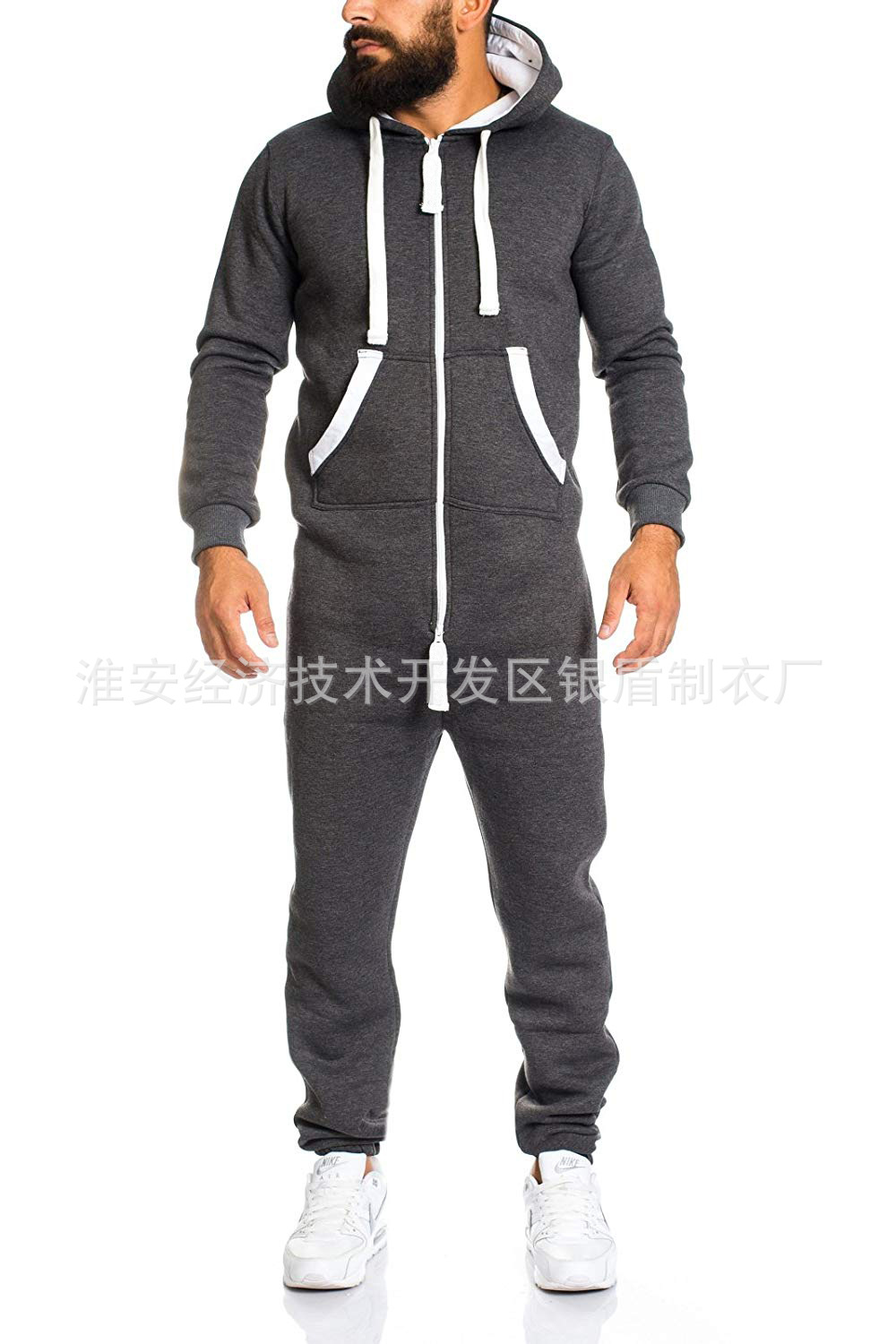 Hot Selling Men's Casual One-piece European And American Style Set Zipper Camouflage Tracksuit Men's