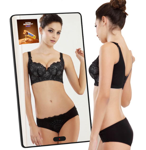 32 43 49 55 дюймовый ПК Встроенный зеркальный ЖК-дисплей windows или android OS сенсорный экран реклама цифровое зеркало