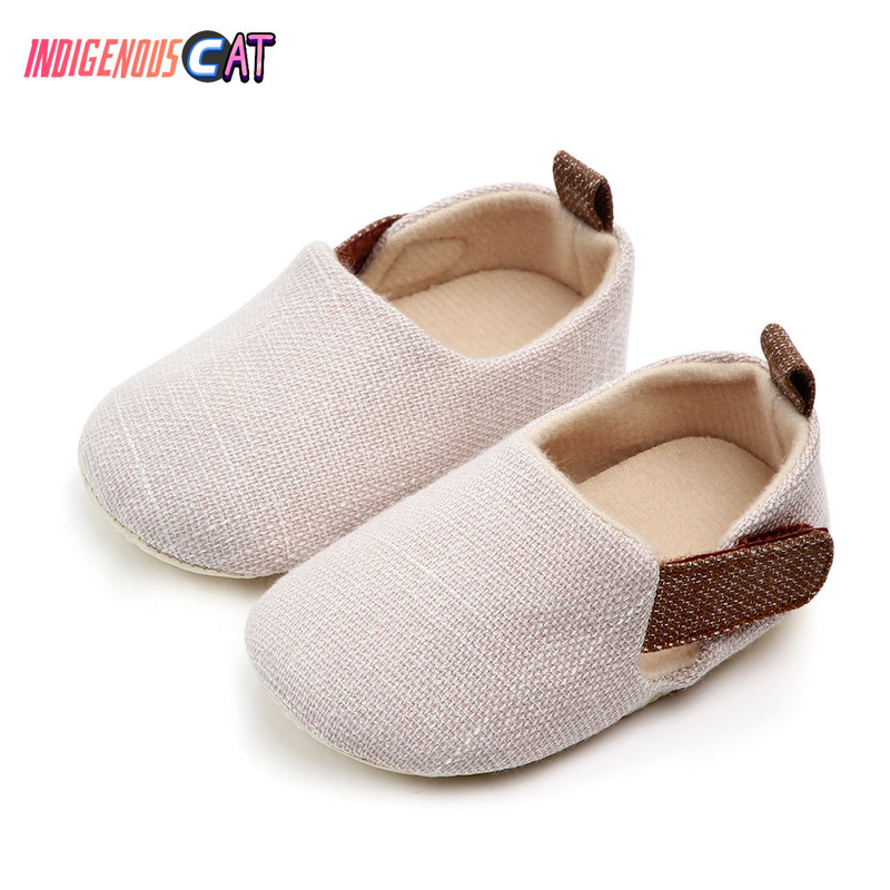 Summer Baby Shoes  Walking Shoes Male And Female Treasure Soft-soled Antiskid Shoes 0-3 Years Baby Boy Boots Shoes Black Canvas