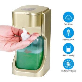 Foam Soap Dispenser Automatic Soap Dispenser Wall-Mount Smart Sensor 500ml Liquid Soap Dispenser Kitchen Bathroom Dispenser цена 2017