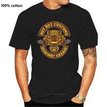 Camisa-garagem de haste quente-camisa ee. uu. Muscle carro v8 grande bloco schrauber s-xxl presente camiseta casual