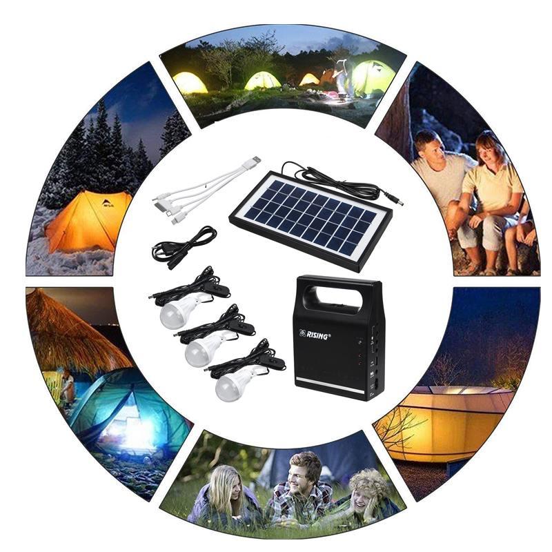 Painel De Energia Solar Gerador Kit 6V