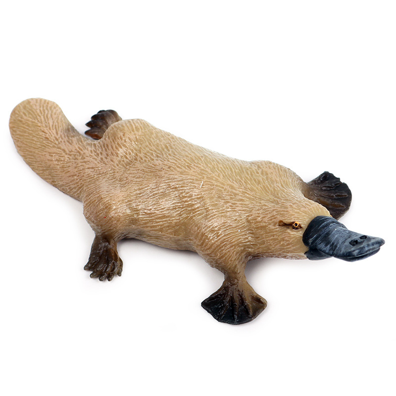 Platypus Animal Model Action Figure Wild Animal Action Figures Collection PVC Children Cognitive Toys