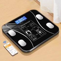 Body Fat Scale Smart Wireless Digital Bathroom Weight Scale Body Composition Analyzer With Smartphone App Bluetooth