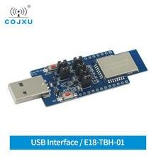 USB Test Board Kit CC2530 2.4GHz E18-TBH-01 ZigBee Module UART for E18-MS1PA1-PCB