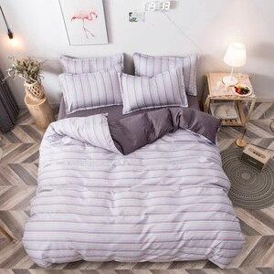 Image 3 - Juego de cama con estampado reactivo para el hogar, funda de edredón, ropa de cama, sábanas planas, 3 o 4 Uds., individual completo