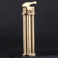With Keychain gas Lighter Blue Flame Spray Gun Electronic Lighter 1300C Butane Torch Turbo Lighter Cigar Cigarette Lighters