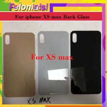 10pcs/lot Original Back Glass Replacement parts For iphone X 8X XR XS XSMAX case body chassis shell battery housing cover