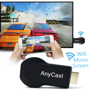 M2 Plus TV stick Wifi Display Receiver Anycast DLNA Miracast Airplay Mirror Screen HDMI Adapter Android IOS Mirascreen Dongle(China)