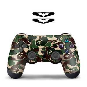 Image 4 - Cool Fashion 1pcs Controller Skin for PS4 Controller Decal Stickers for Playstation4 Controller For ps4 console playstation 4