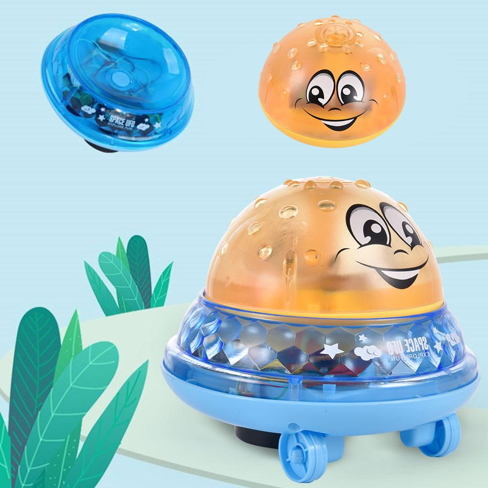 Infant Children's Electric Induction Sprinkler Toy Light Baby Play Bath Toy Water Toys Funny Water Balloons Toys For Children