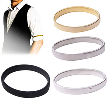 One Pcs Elastic Armband Shirt Sleeve Holder Women Men Fashion Adjustable Arm Cuffs Bands For Party Wedding Clothing Accessories