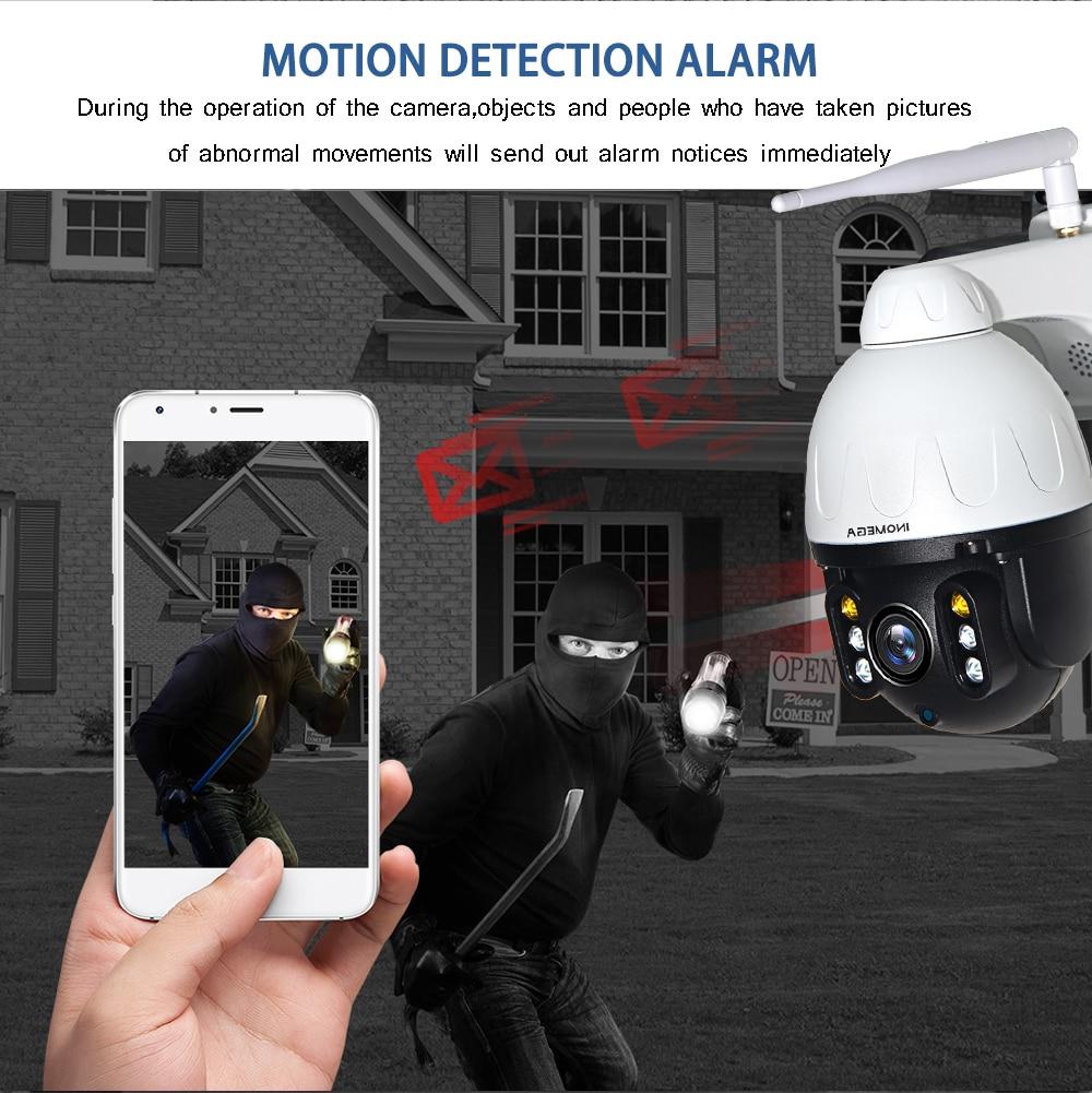 H8aa4e11481a545fd99ed64707cf7b5eaF INQMEGA Cloud 1080P Outdoor PTZ IP Camera WIFI Speed Dome Auto Tracking Camera 4X Digital Zoom 2MP Onvif IR CCTV Security Camera