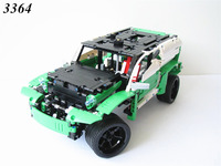 3364 Technic series the 24 Hours Race Car model Building Blocks set Compatible 42039 classic car styling toys gifts