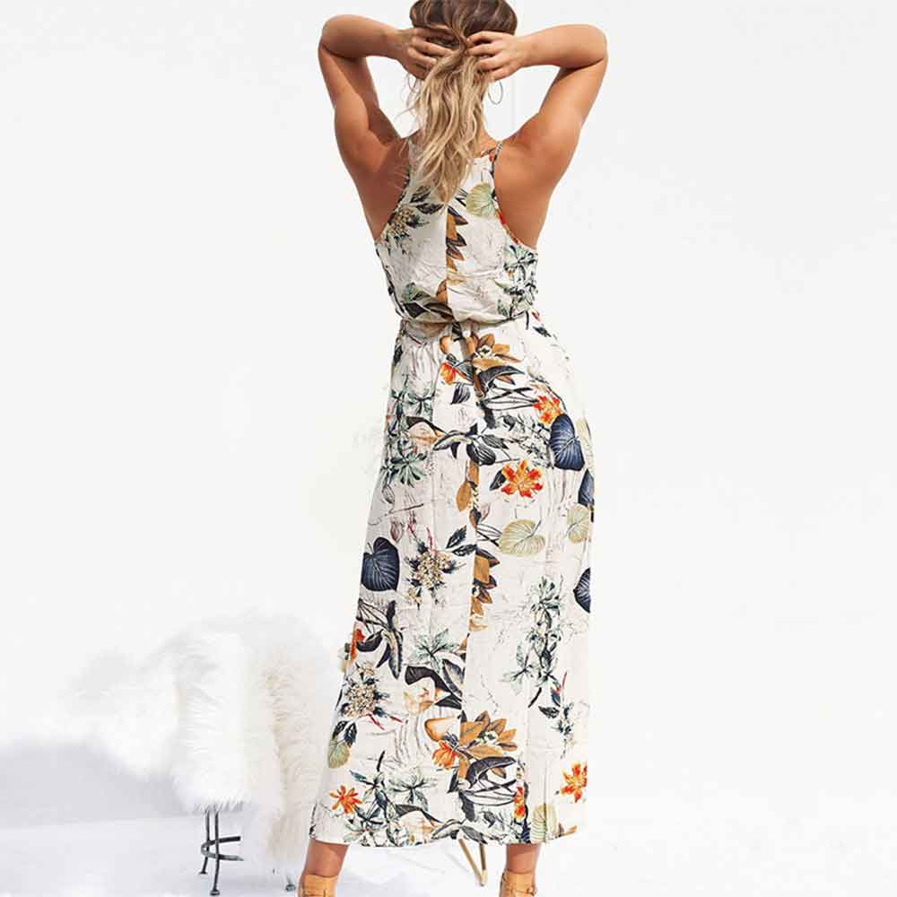 Women-Summer-Dress-Sleeveless-Belted-Jacket-Tunic-Maxi-Dress-Womens-Floral-Print-Boho-Beach-Dress-Fashion (3)