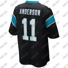Jersey Carolina Anderson Black 5XL Customized 4XL Stitch Youth Kid Game-Player Robby