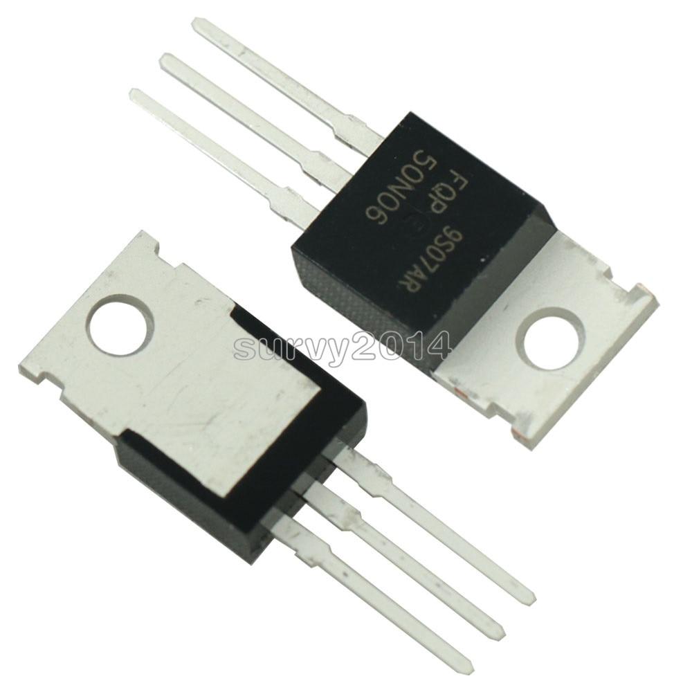 5PCS NEW FQP50N06 50N06 MOSFET N-CH 60V 50A TO-220 NEW