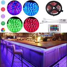 LED Strips Lights Bluetooth Smart Light RGB SMD 5W Ambient Light Waterproof WiFi Flexible Lamp Tape Ribbon Diode DC12V DC/USB