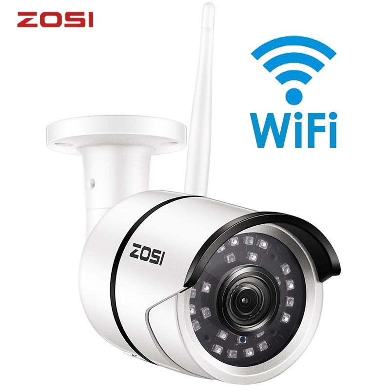 ZOSI 1080P Wifi IP Camera Onvif 2.0MP HD Outdoor Weatherproof Infrared Night Vision Security Video Surveillance Camera|Surveillance Cameras| - AliExpress