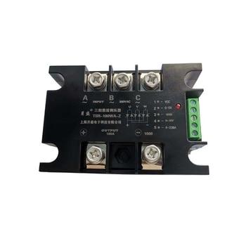 Motor Controller Thyristor Rectifier Voltage Regulator Module 380V Intelligent Solid State Voltage Regulator TSR-100WA-Z 150WA