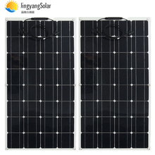 China mono solar cell high efficiency 100w manufacturer price mounting  pv solar panel for sale 12v solar charger 200w 300w 400w