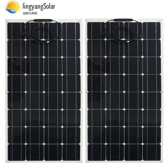 Chiny mono ogniwo słoneczne o wysokiej wydajności 100w producent cena montaż panel fotowoltaiczny na sprzedaż 12v ładowarka solarna 200w 300w 400w