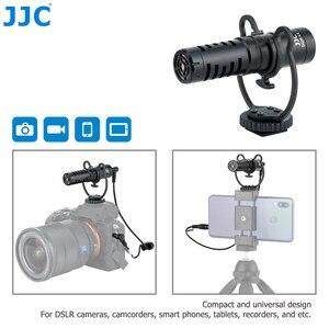 Image 1 - JJC Cardioid Microphone Cho Máy DSLR Máy Ảnh Không Gương Lật Video Máy Quay Phim Điện Thoại Máy Tính Bảng Đầu Ghi Micro Cho Vlogger Cuộc Phỏng Vấn
