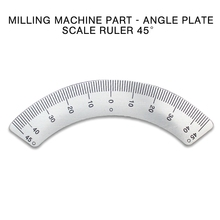 PINTUDY Protractors Milling Machine Part - Angle Plate Scale