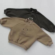 Sweatshirts Girls Baby-Boys Kids Newborn And Cotton Winter for 12m-3y High-Neck-Tops