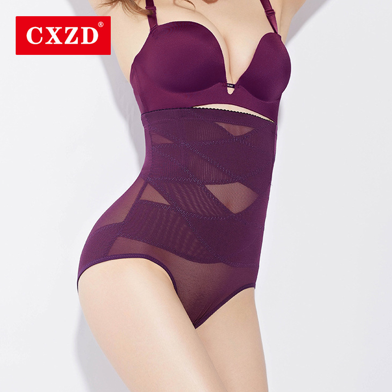CXZD Seamless Women Shapers High Waist Trainer Shaper Tummy Control Panties Hip Butt Lifter Control Knickers Pants Breathable