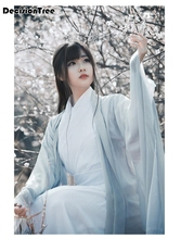 2019 summer chinese style women's hanfu costume cantonese embroidered skirt + clothes traditional chinese beautiful dance hanfu