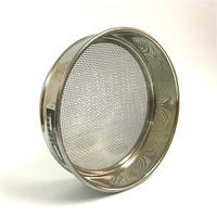 Test Sieve All 304 SUS Laboratory Standard Sieve Sampling Inspection Pharmacopeia Sieve R30cm Aperture 2.5/2.8/3.2/4/5mm