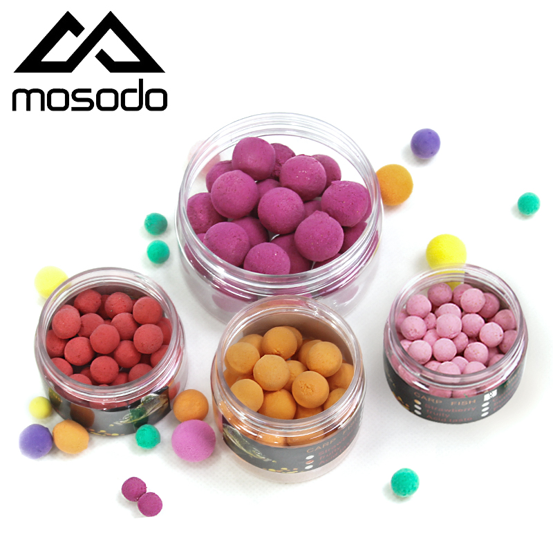 Mosodo Carp Fishing Pop Ups Beads Floating Pop-up Bead PVA Ball Boilies Lure Bait Lures Popup Colored Lure In One Bottle