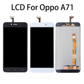 """OPPO A71  5.2"""" LCD Display Touch Screen Digitizer Assembly Replacement Screen Parts For OPPO a71 Full Display CPH1717 CPH1801"""