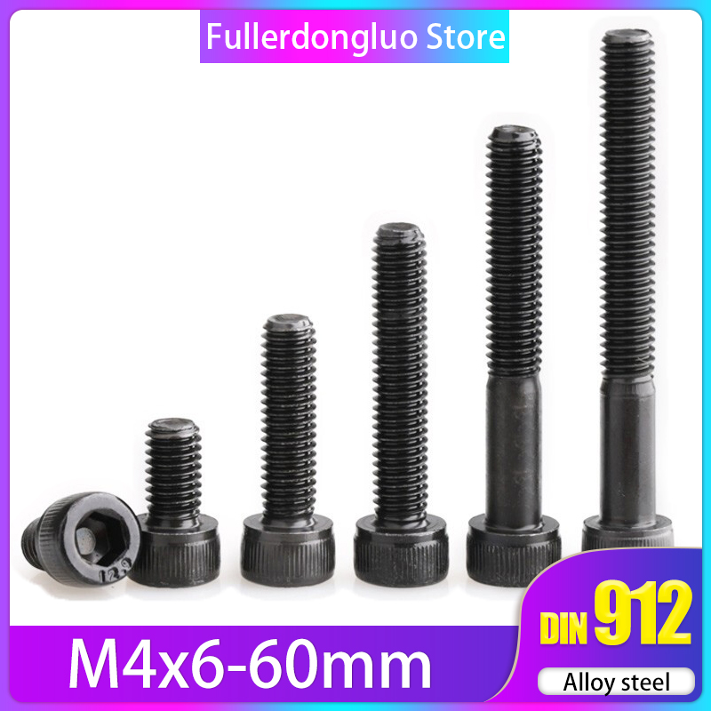 METRIC SOCKET CAP SCREWS M6-1.0 x 25MM 12.9 ALLOY NEW 30 PCS