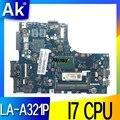 ZIUS6/S7 LA-A321P материнская плата для lenovo S410 S40-70 M40-70 ноутбук материнская плата Процессор i7 4500U/4510U DDR3 100% тесты работы