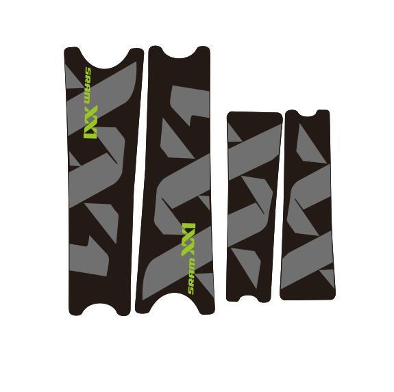 Rock Shox YARI 2018 Fork Decal Mountain Bike Cycling Sticker Adhesive Camuflage