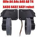 Запчасти для пылесоса для колесного робота аксессуары для ilife A4 A4s A40 A8 T4 X430 X432 X431 робот-пылесос колеса моторы