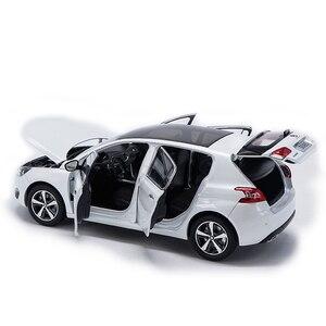 1:18 Peugeot 308S 2015 хэтчбек сплава литья под давлением Металл Модель автомобиля оригинального автомобиля игрушки для детей, подарки на день рождения коллекция игрушка|Наземный транспорт|   | АлиЭкспресс