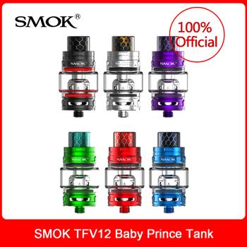 Oryginalny SMOK TFV12 Baby Prince sub-ohm Tank 4 5ml Top-filling regulowany przepływ powietrza atomizer do elektronicznego papierosa parownik tanie i dobre opinie Metal Wymienne
