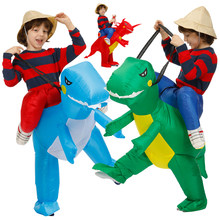 Costumes de Cosplay de fête pour enfants, 60-160cm, Costume Animal, dinosaure gonflable, Anime, Costume pour garçons et filles