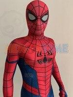 Ultimate Alliance 3 Spiderman Cosplay Costume Zentai Spiderman Superhero Bodysuit Spandex Suit for Adult/ Kids Custom Made