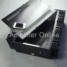 1PCS Full Aluminum Chassis KRELL KSA 250 Class A Box CNC Amplifier Chassis/Case BOX DIY 480x215x520MM AP25