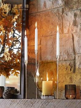 Portavelas alto y moderno para centros de mesa, Farol Vela, artículos para...