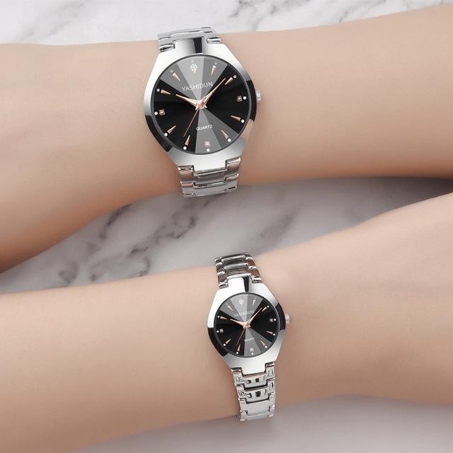 Subchron Meal/yashidun Modern WOMEN'S Watch Steel Belt Couple Watch Students Night Light Watch Manufacturers Wholesale