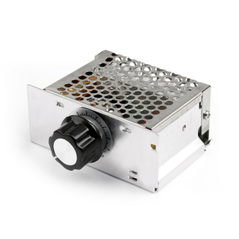 4000W LED Dimmer 220V AC SCR Voltage Motor Speed Controller Module Electronic Voltage Regulator Dimmer Temperature Regulator ac 220v 4000w high power scr speed controller electronic voltage regulator governor l15