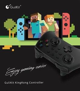 Image 5 - Gulikit NS08ワイヤレスbluetoothゲームパッドkingkongゲームコントローラスイッチpcアンドロイドtvボックスラズベリーパイ3B 4Bゲームjaypad