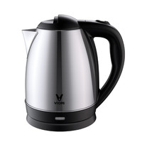 YOUPIN VIOMI YM K1701 1.7L/1500W Electric Kettle Large Capacity Fast Boiling Household 304 Stainless Steel Electric Water Kettle