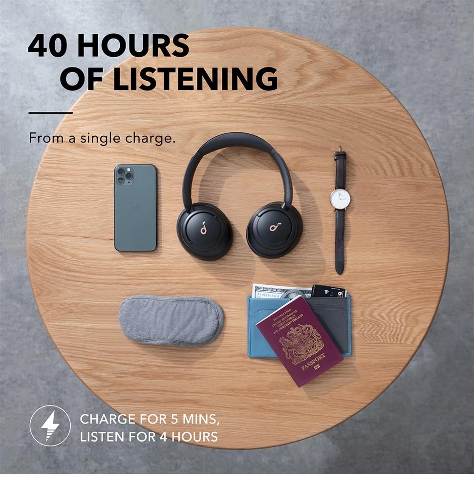 Anker Soundcore Life Q30 Hybrid Active Noise Cancelling Headphones 7
